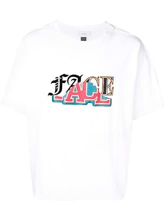 Facetasm Camiseta com estampa gráfica - White