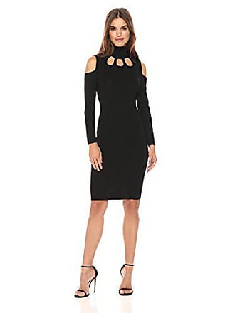 02ac66e6c172 Calvin Klein Womens Cold Shoulder Cut Out Sweater Dress