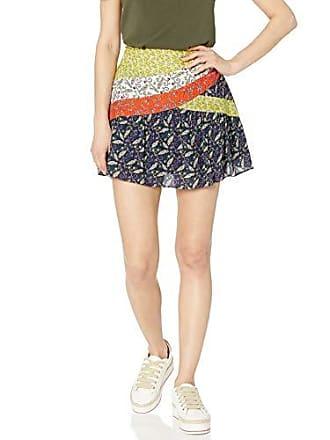 Ramy Brook Womens Floral Printed KAIA Mini Skirt, Multi Combo, Large