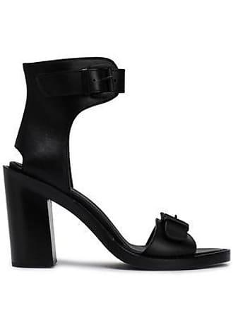 Ann Demeulemeester Ann Demeulemeester Woman Leather Sandals Black Size 40