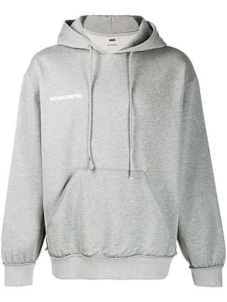 WWWM - What We Wear Matters Moletom com estampa de logo - Cinza