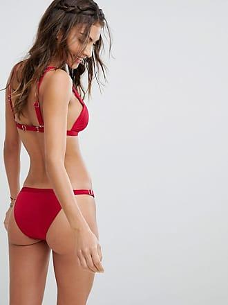 1ab0b23f968cc Somedays Lovin Lovin Deep Pink Cheeky Bikini Bottoms - Red