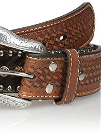 Nocona Mens Bone Collector Concho Belt
