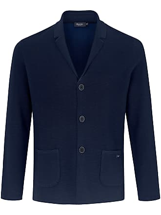 cd6faf09f3138 Maerz Cardigan in a blazer style MAERZ Muenchen blue