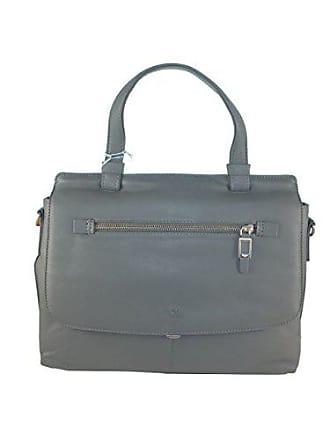 ea69077cddf8a Damen-Lederhandtaschen in Grau Shoppen  bis zu −40%