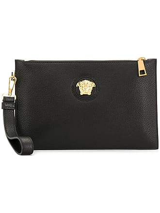 90fc7638935a Versace wristlet clutch bag - Black