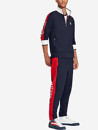 a7a2fd8da46af Polo Ralph Lauren Sweat zippé USA Bleu Polo Ralph Lauren