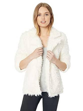PJ Salvage Womens SHAG Jacket, Natural, S