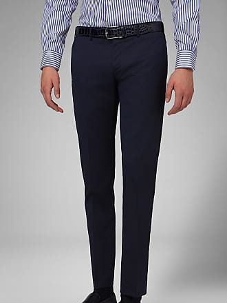Boggi Milano pantalone in lana stretch slim