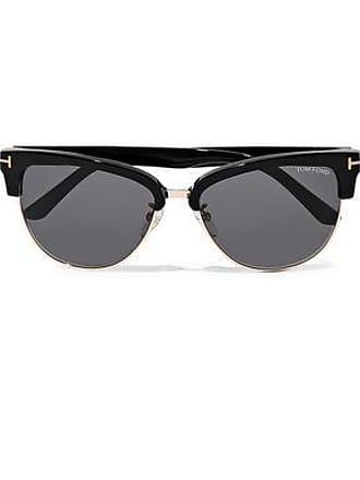 0c7d7b31d8c94 Tom Ford Tom Ford Woman Fany D-frame Acetate And Gold-tone Sunglasses Black