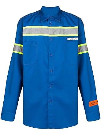 HPC Trading Co. Camisa com listras refletivas - Azul