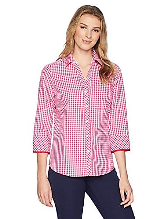 1302a7f91724e Foxcroft Womens Mary Gingham Non Iron Shirt