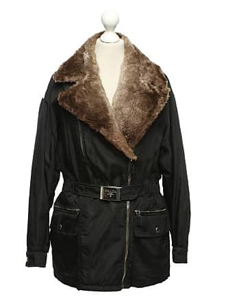 6cad80c6b876f Prada gebraucht - Schwarze Jacke - DE 44 - Damen