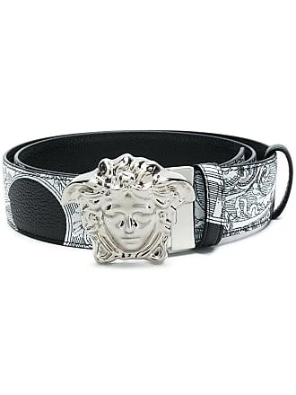 Versace Baroccoflage belt - Black