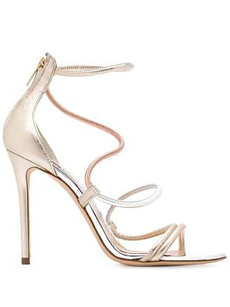 The Seller wave strap sandals - Metálico