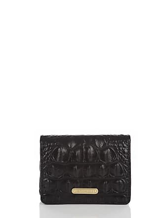 Brahmin Mini Key Wallet Black Melbourne