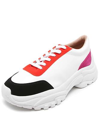 a4c43ddc497eb Dafiti Tênis DAFITI SHOES Dad Sneaker Chunky Branco Preto