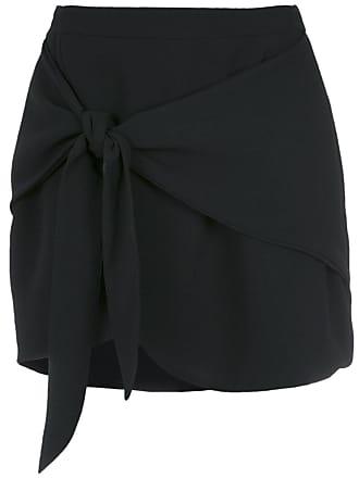 OLYMPIAH tie fastening mini skirt - 2