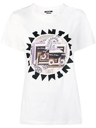 Isabel Marant logo T-shirt - White