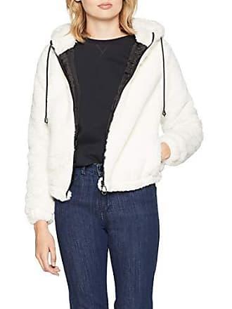 c0abd26b96e Jennyfer 00FIBO Manteau Femme Ecru (Ecru 1.0) Large (Taille Fabricant L)