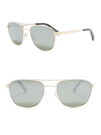 Ermenegildo Zegna 55mm Navigator Sunglasses