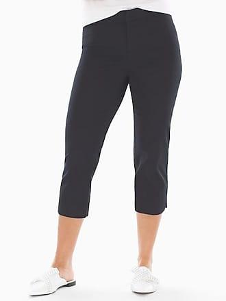 Soma Summerweight Slimming Crop Pants Black, Size XXL