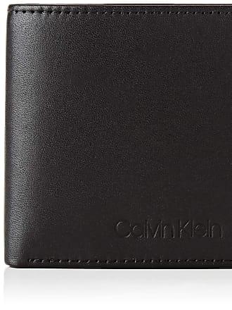 Calvin Klein Mens Vital Mini 6CC W/Bill Wallets, Black, OS