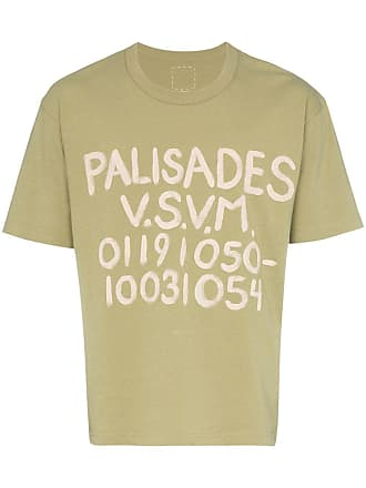 Visvim Palisades number T-shirt - Green