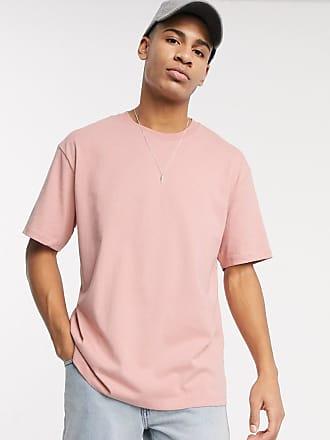 Topman Übergroßes, rosa T-Shirt
