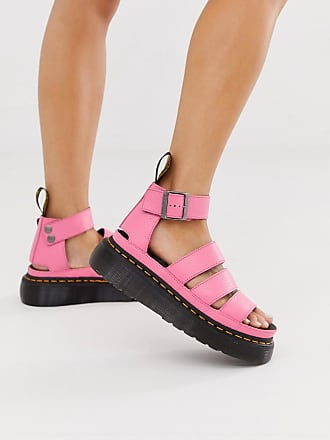 Dr. Martens Clarissa II quad sandals in bright pink - Pink