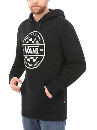 2c0047dbd78 Vans Mens Checker CO. PO Hoodie (Black Blk) (Manufacturer Size  X