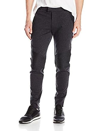 2(x)ist Mens Moto Pant, Charcoal Heather, Large