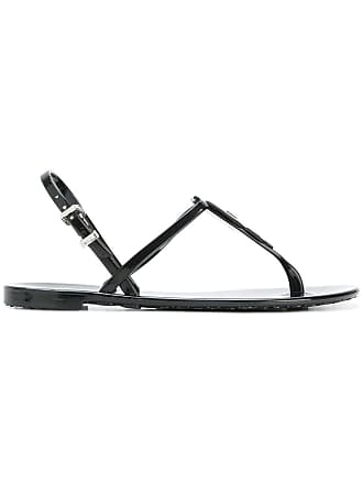 Karl Lagerfeld rubber jelly Lagerfeld sandal - Black