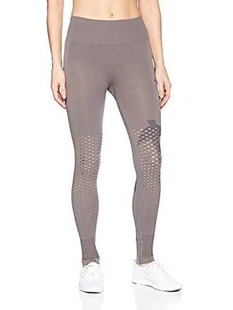 Maaji Womens Paloma Seamless Mid Rise Long Legging, Open Gray, Small