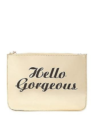 Forever 21 Forever 21 Hello Gorgeous Makeup Pouch Gold