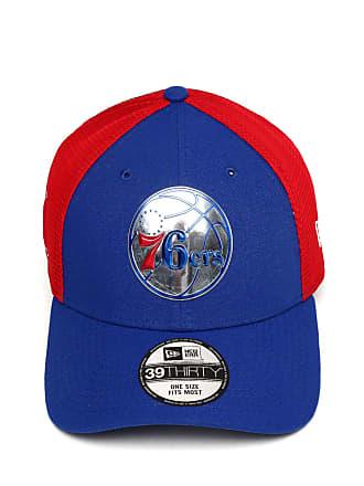 New Era Boné New Era Fitted 3930 Philadelphia 76ers Azul Vermelho 31ec8350e6e