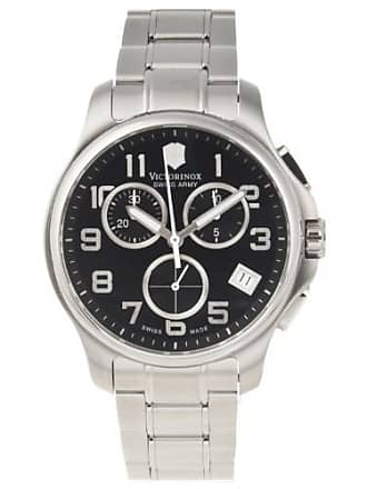 Victorinox by Swiss Army Swiss Army Mens Officers Stainless Steel Watch 241453