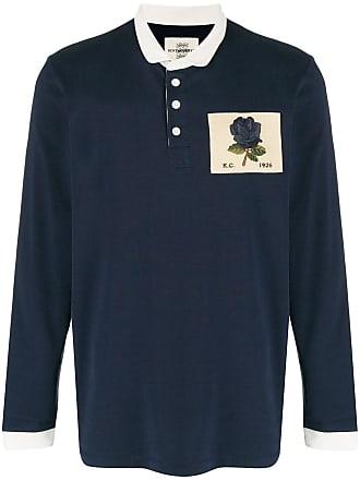 Kent & Curwen rose long-sleeve polo shirt - Azul