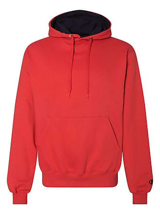 db5540c1a938 Champion S1781 90 10 Cotton Max Pullover Hood - Large - SCARLET BLACK (