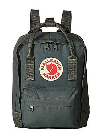 Fjällräven Kanken Mini (Frost Green/Chess Pattern) Backpack Bags