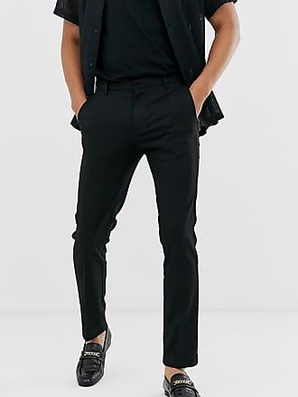 Topman Enge, elegante Hose in Schwarz