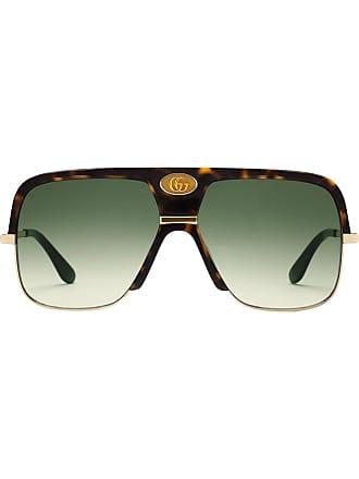 Lunettes De Soleil Gucci pour Hommes   272 Produits   Stylight 13caad4540e2