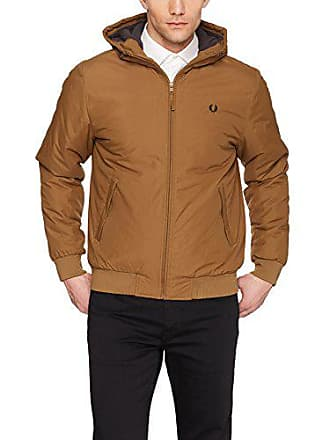 78d90dc15 Fred Perry Mens Quilted Hooded Brentham JKT