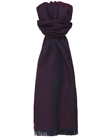 03b7fb7b499b Emporio Armani Armani Mens Wool Logo Scarf One Size Red
