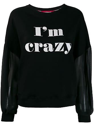Guardaroba Blusa de moletom Im Crazy - Preto