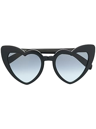 Saint Laurent Eyewear Óculos de sol Heart - Preto