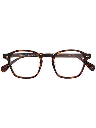 Kaleos Armação de óculos quadrada - Marrom
