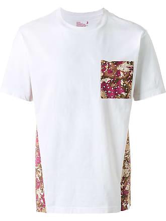 White Mountaineering Camiseta com estampa - Branco