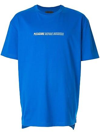 Off Duty Camiseta Pleasure Before Business - Azul