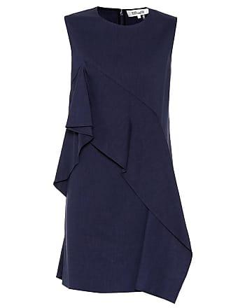Diane Von Fürstenberg Linen-blend dress